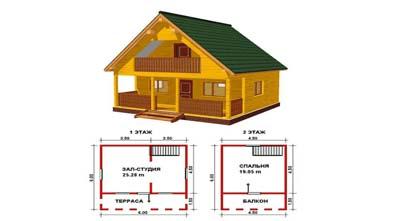 как строить дачный домик